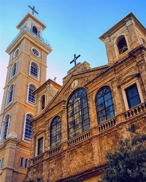 ⛪  French  greek  architecture  buildings  lebanon  livelovelebanon ... (Beirut, Lebanon)